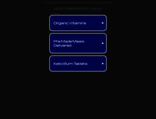 nutritionbynature.com.au screenshot