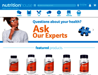 nutritionhouse.com screenshot