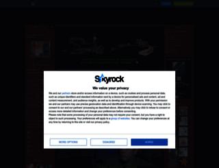 nutsy7801.skyrock.com screenshot