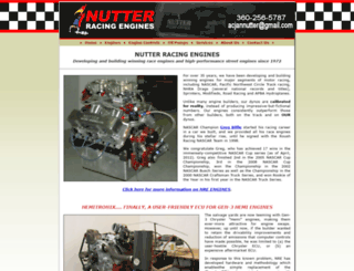 nutterracingengines.com screenshot