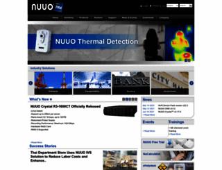 nuuo.com screenshot