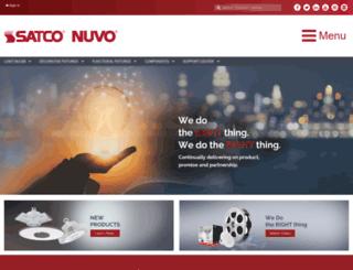 nuvolighting.com screenshot