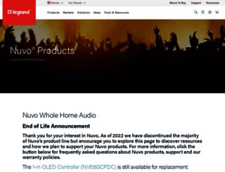 nuvotechnologies.com screenshot