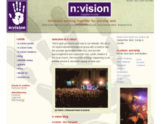 nvision.uk.net screenshot