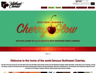 nwcherries.com screenshot