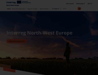 nweurope.eu screenshot