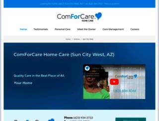 nwvalleyaz.comforcare.com screenshot