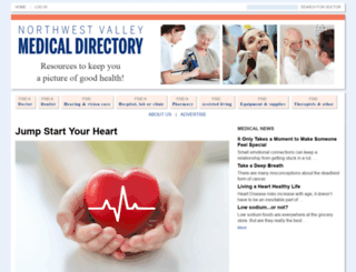 nwvalleymedicaldirectory.com screenshot