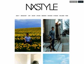 nxstyle.tumblr.com screenshot