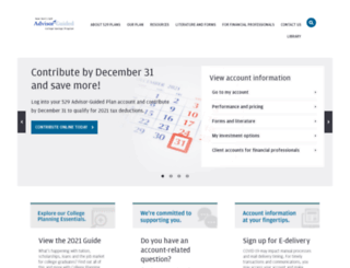 ny529advisor.com screenshot