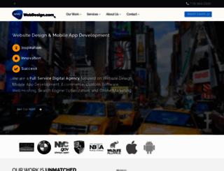 nycwebdesign.com screenshot