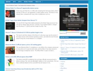 nyeo.indthemes.net screenshot