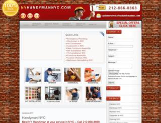 nyhandymannyc.com screenshot