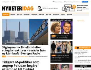 nyheteridag.se screenshot