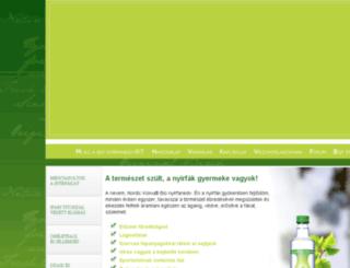 nyirfanedv.hu screenshot