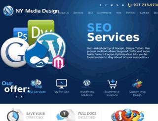 nymediadesign.com screenshot
