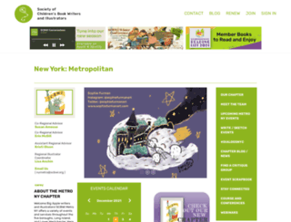 nymetro.scbwi.org screenshot