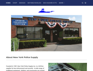 nypolicesupply.com screenshot