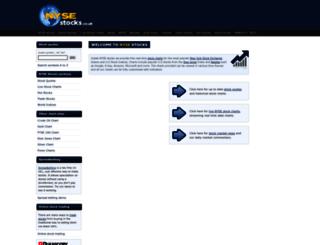 nysestocks.co.uk screenshot