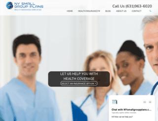 nysmallgroupplans.com screenshot