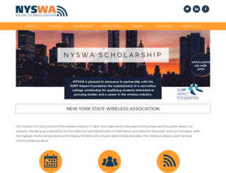 nyswa.org screenshot
