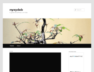 nyxydeb.wordpress.com screenshot