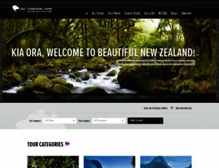 nz-tourism.com screenshot