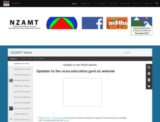 nzamt.org.nz screenshot
