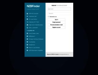 nzbfinder.ws screenshot