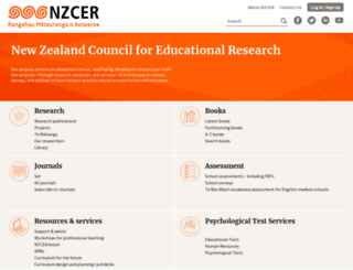 nzcer.org.nz screenshot