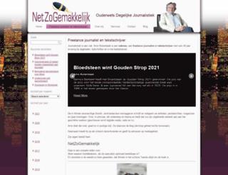 nzg-journalisten.nl screenshot