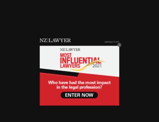 nzlawyermagazine.co.nz screenshot