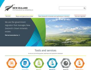 nzpam.govt.nz screenshot