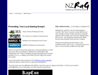 nzrag.com screenshot