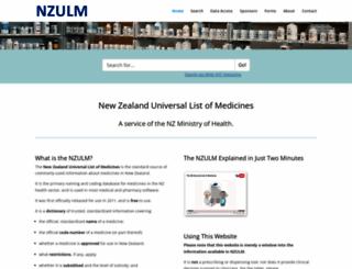 nzulm.org.nz screenshot