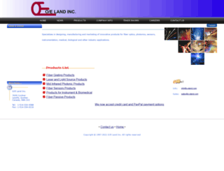 o-eland.com screenshot