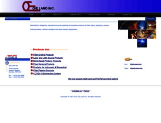 o-eland.com screenshot