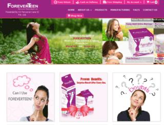 o2personalcare.com screenshot