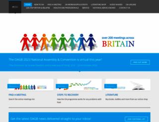 oagb.org.uk screenshot
