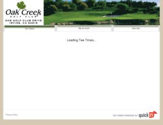 oakcreekpreferred.quick18.com screenshot