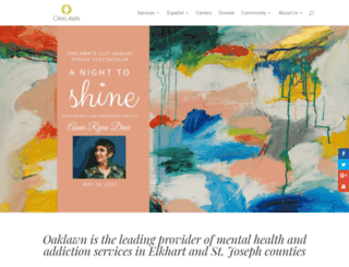 oaklawn.org screenshot