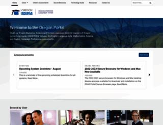 oaksportal.org screenshot
