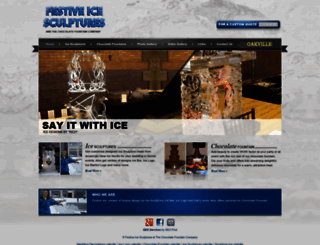 oakville.festiveice.com screenshot