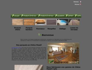 oakwood-import.com screenshot