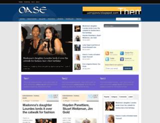 oasetheme.blogspot.ro screenshot