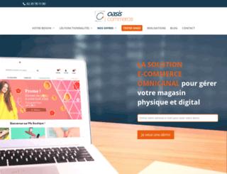 oasis-ecommerce.com screenshot