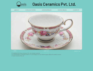 oasisceramics.com screenshot