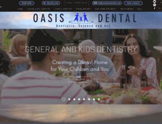 oasisdentalmilton.com screenshot