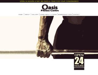 oasisfitness.com.au screenshot
