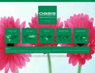 oasisfloral.com screenshot